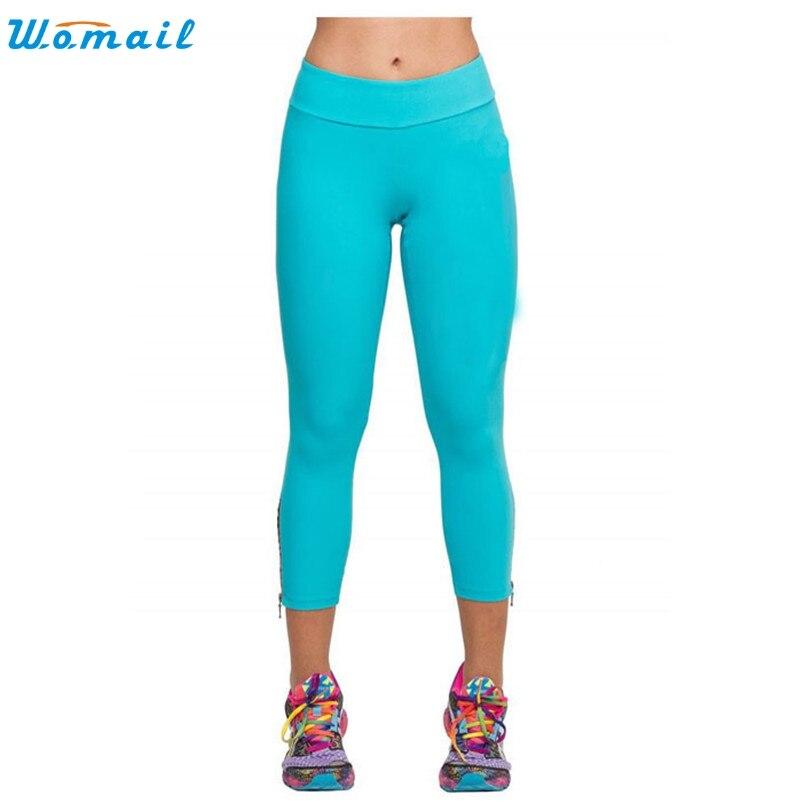 Prix pour 3 Couleurs Yoga Sport Leggings Fitness Femmes Sport Serré Maille Yoga Leggings Compréhension Yoga Pantalon Femmes Collants Running Dec13