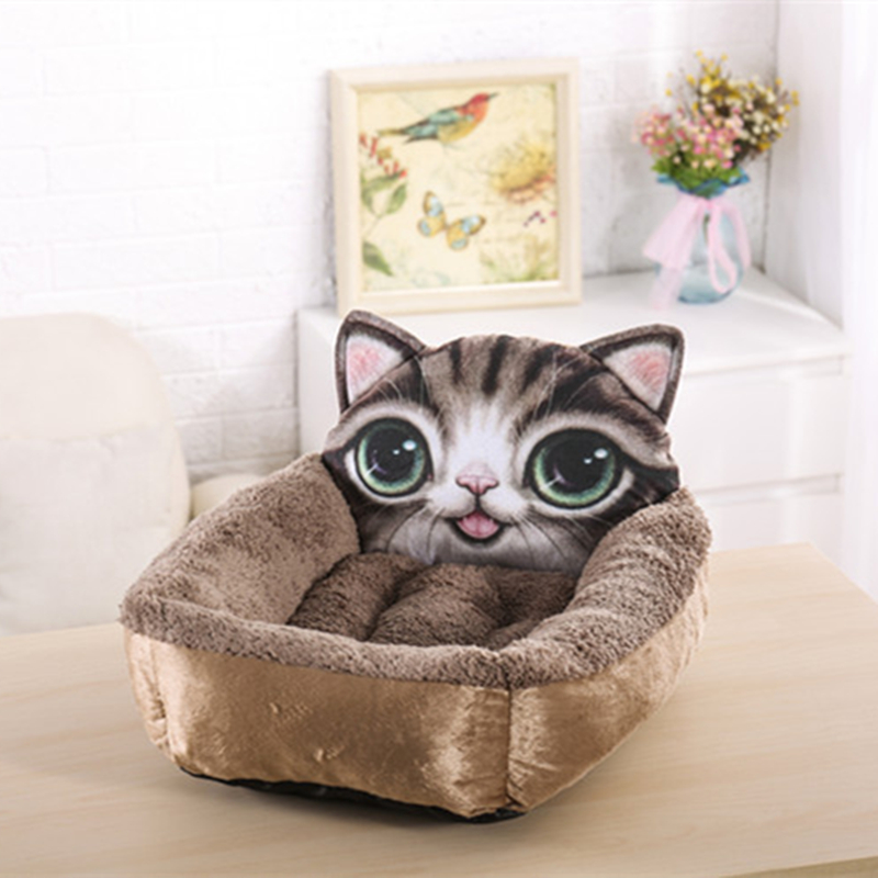Kisállat kutya ágy ház párna kiságy közepes kutyák macska - Pet termékek - Fénykép 3