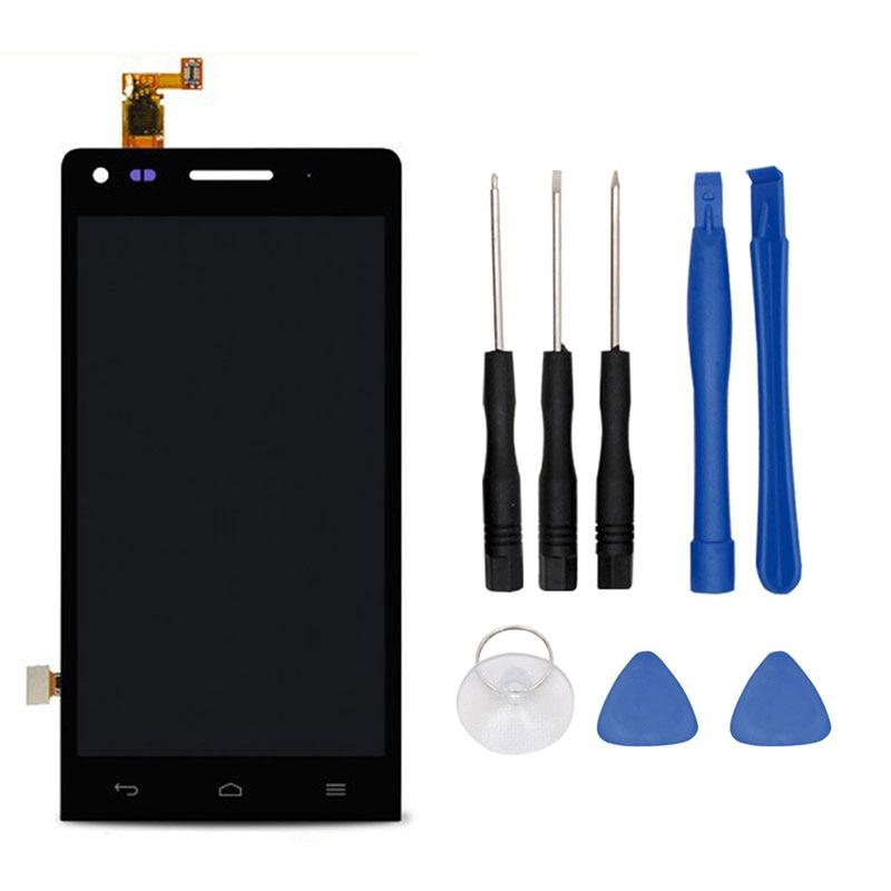 imágenes para Para Huawei Ascend G6 Pantalla LCD y Montaje de la Pantalla Táctil de Reparación Parte 4.5 ''para Huawei Ascend G6 Envío Libre + herramientas