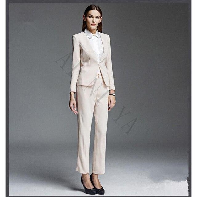 Hot Sale Women S Business Suits Formal Work Wear Ol Lady Trouser