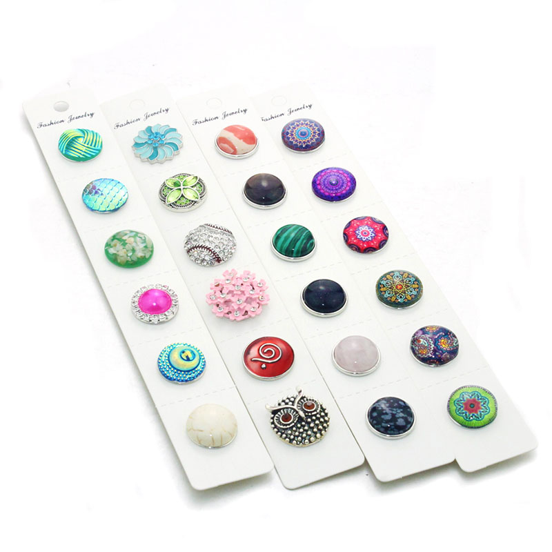 Pp Card Display For Snap Button Jewelry (fit18mm 20mm Snap) Oem, Odm 9173