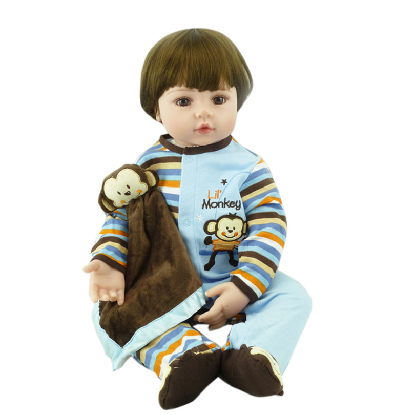 22 inches Doll Reborn For Sale Soft Toys Silicone and cotton Reborn Babies boys Play House Toys Lifelike Doll Newborn Babies 6 4 4m bounce house combo pool and slide used commercial bounce houses for sale