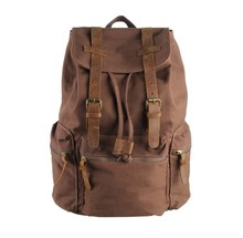 9003B J.M.D  New Style Canvas and leather Men Travel bag Backpacks