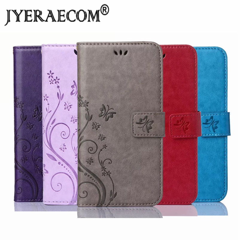 JYERAECOM Retro PU Leder Flip Brieftasche Abdeckung Fall Für Coque <font><b>IPhone</b></font> 5 s SE 5se 5c <font><b>4</b></font> <font><b>4</b></font> s 6 6 s 7 plus 8 X XR XS Max Fall image
