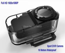 2016 New Genuine Full HD 1920*1080P Digital Sports DV Action Waterproof Camera Free Shipping