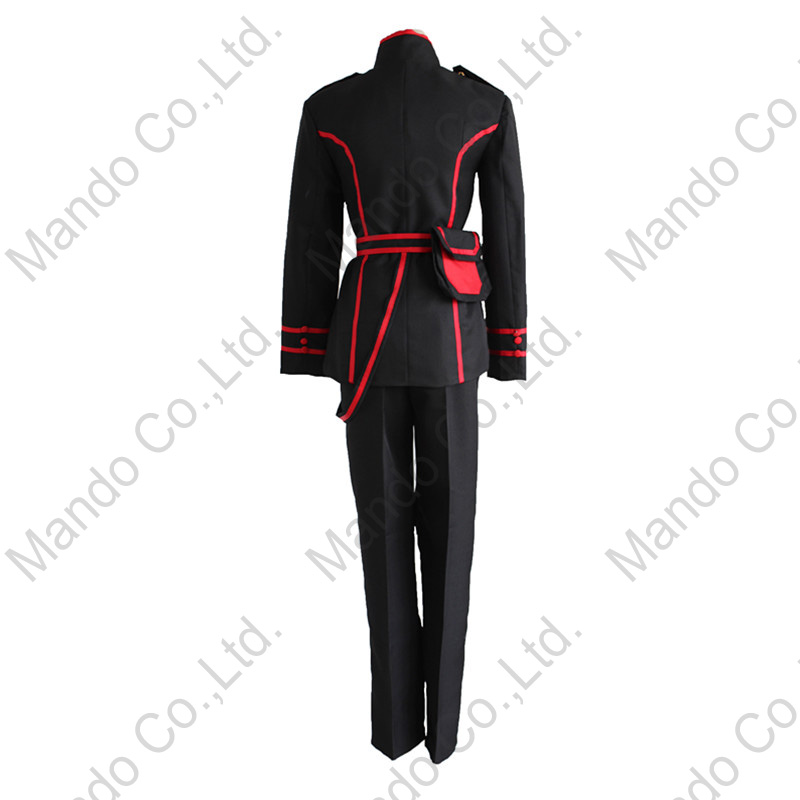 Anime D.Gray-man Allen Walker Cosplay Costumes Man uniform Suit - Costumes - Photo 4