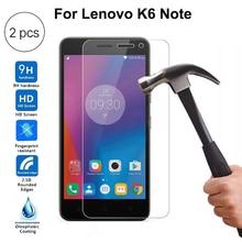 2PCS For Lenovo K6 Note Tempered Glass F