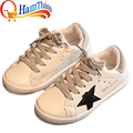New Boys Girls PU Leather Antiskid Breathable Sneakers Children Shoes Flats Sports Casual Shoe Little Kid Big Kid Size 26-35