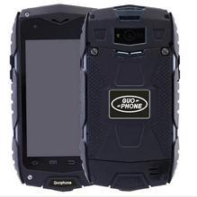 """Guophone V11 IP68 MTK6582 4.0 """"quad Core Dual SIM карты 8MP 8 ГБ Встроенная память + 1 ГБ Оперативная память 3 г Оригинальный Водонепроницаемый Открытый Смартфон"""