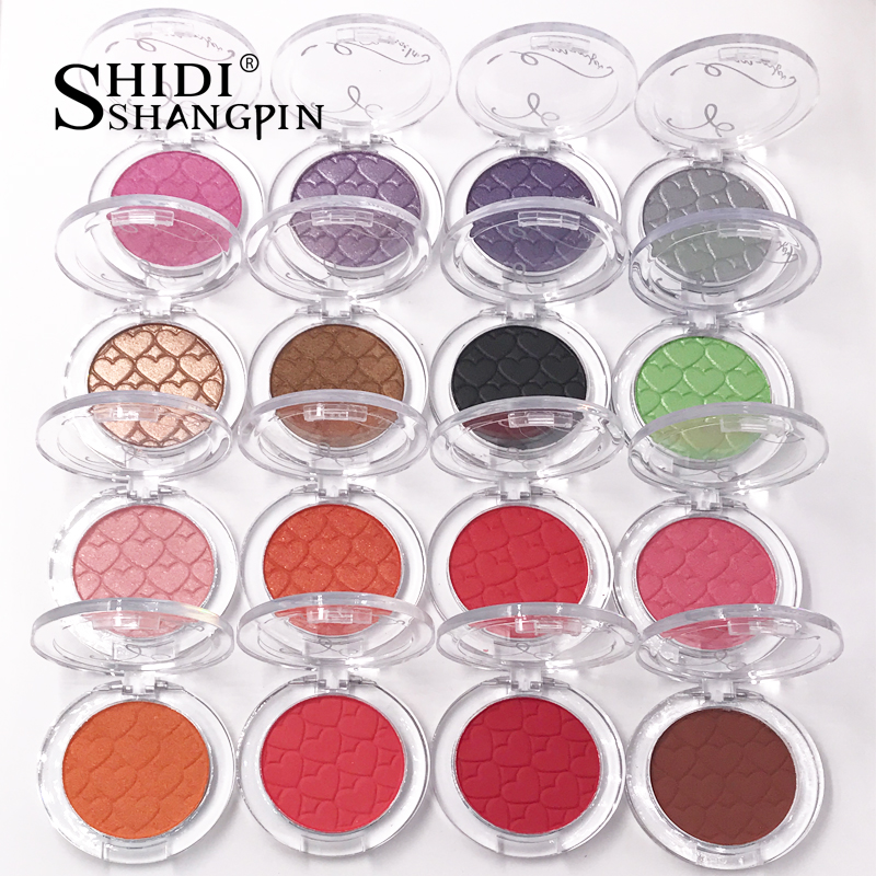 Warna tunggal 28 Warna Profesional Eye Shadow Palette Mutiara Gigih Make Up Shimmer Tahan Air Eyeshadow Eye Makeup sombra