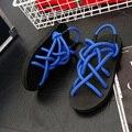 Мужчины Повседневная Сандалии Летняя Мода Пляжные Тапочки На Открытом Воздухе Мужские Дышащий Сандалии Отдыха Рыбак Сандалии Мужчины Sapatos Homem Плоские