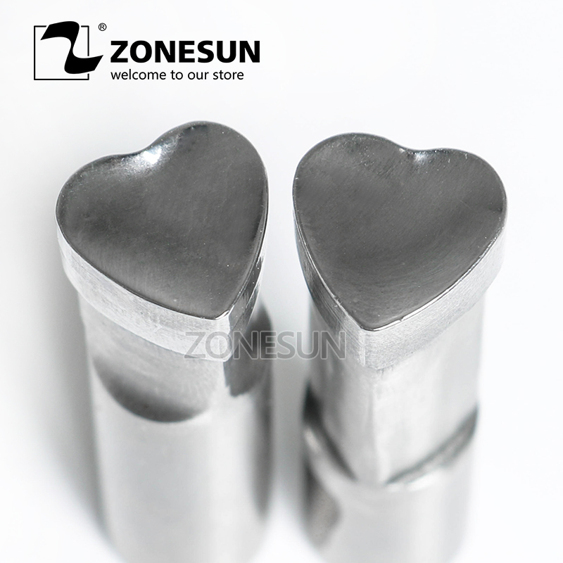 ZONESUN 1 set of custom die punching die punch tool milk tablet die sugar candy die mold stamp TDP0/1.5/3 pressing tool