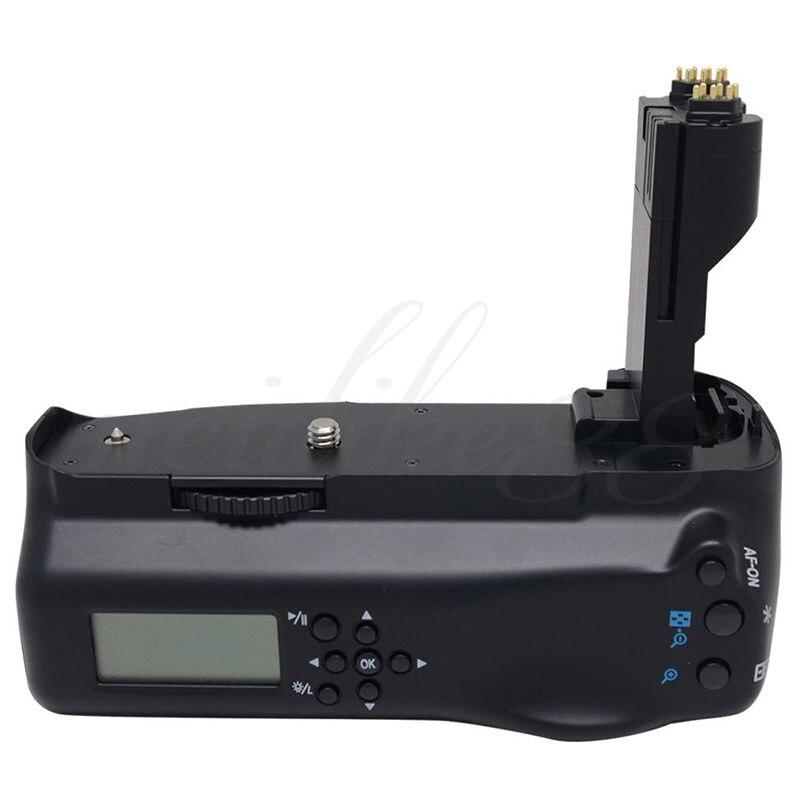 bilder für Meike 7DL LCD Vertikale Batteriegriff handpackung halter Für canon 7D kamera BG-E7