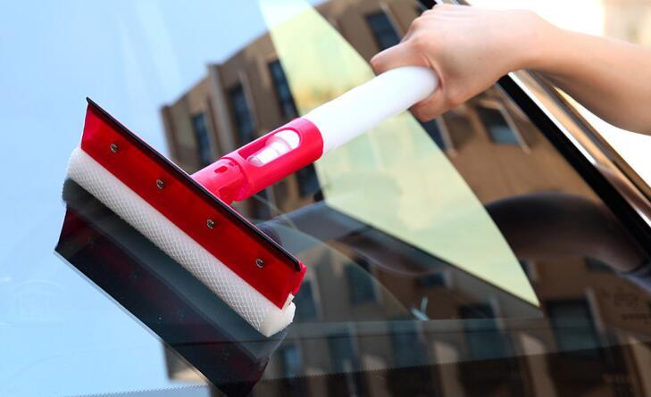 2 stücke fenster rakel auto handheld fensterglas wischerreiniger hause bad