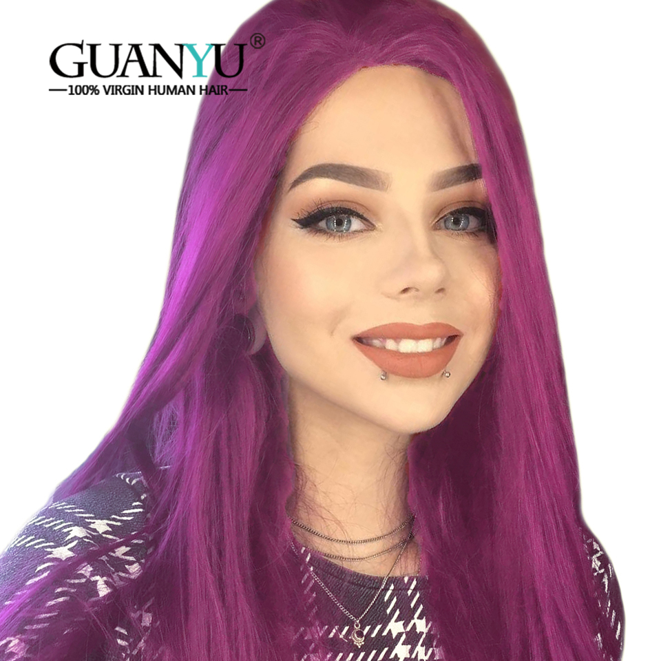 guanyuhair pre plucked purple full