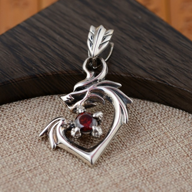 Thai silver wholesale s925 sterling silver pendant antique style thai silver wholesale s925 sterling silver pendant antique style dragon pendant exquisite personality mens gift aloadofball Gallery