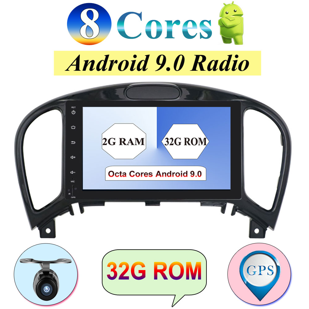 Multimedia-Player Camera Car-Audio Stereo Nissan Juke 2-Din android 2G for Radio 8-Core