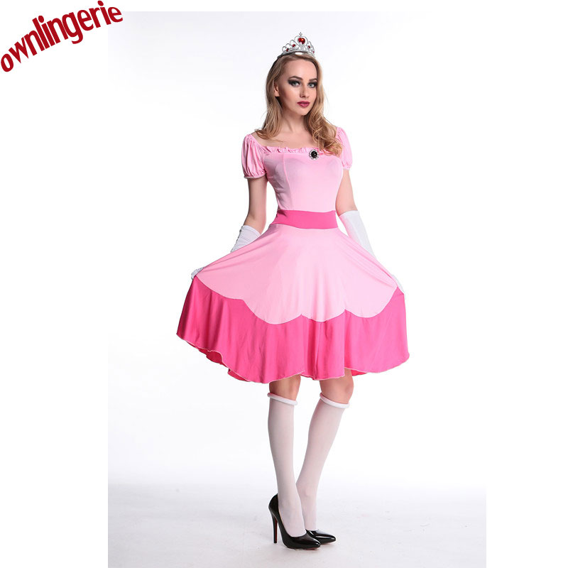 Online Buy Wholesale peach halloween costume from China peach ...
