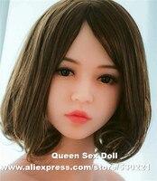 WMDOLL #88 Top quality TPE sex doll head japanese realistic dolls, oral doll sex toys, love doll head
