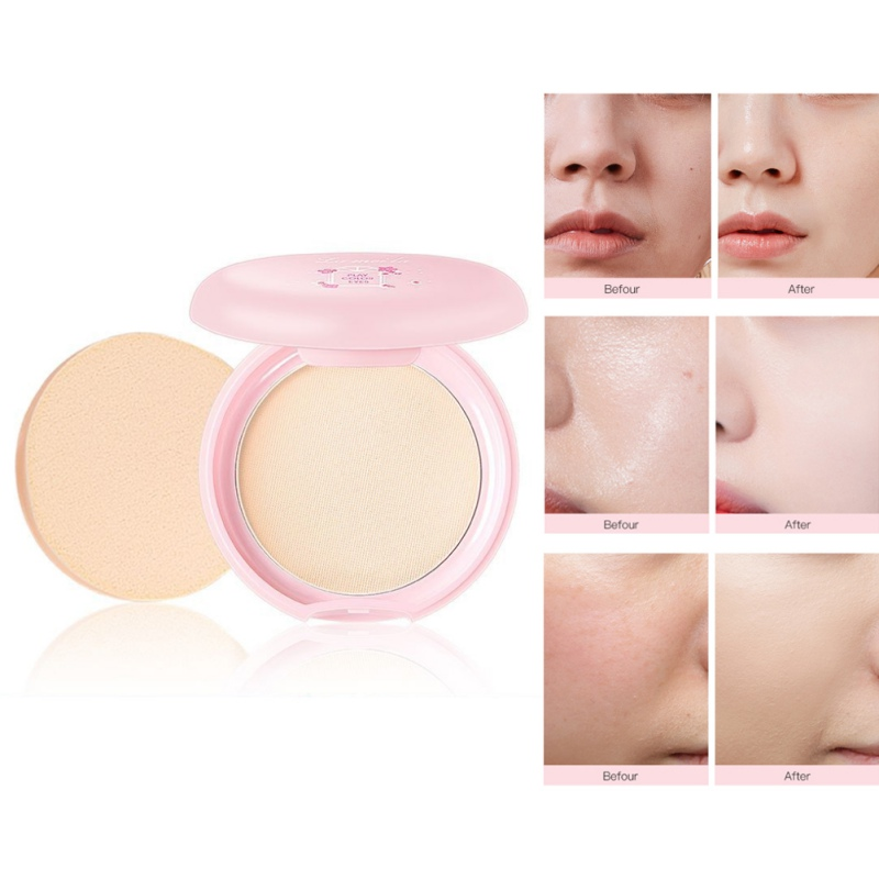 2019 Bare Mineralize Cosmetic Soft Translucent Compact Pressed Powder Face Contour Palette Finishing Powder Setting Makeup