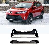 Бесплатная доставка Задняя накладка на бампер протектор для 2013 2015 Toyota RAV4 для Toyota Previa RAV 4 Новый