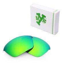 Mryok поляризованные Сменные линзы для солнцезащитных очков Оукли специальные солнцезащитные очки изумрудно-зеленый