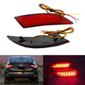2Pcs/Lot Car Styling Brake LED Rear Bumper Reflector Light Warning Lamp For Ford Focus 3 Sedan Hatchback 2012-2014 Auto Parts
