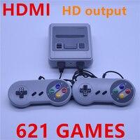 HDMI Super mini TV Familie Konsoli Do Gier HDMI 8 Bit Retro speler Ingebouwde 621 Gry Handheld Konsoli Do Gier Gry Wideo