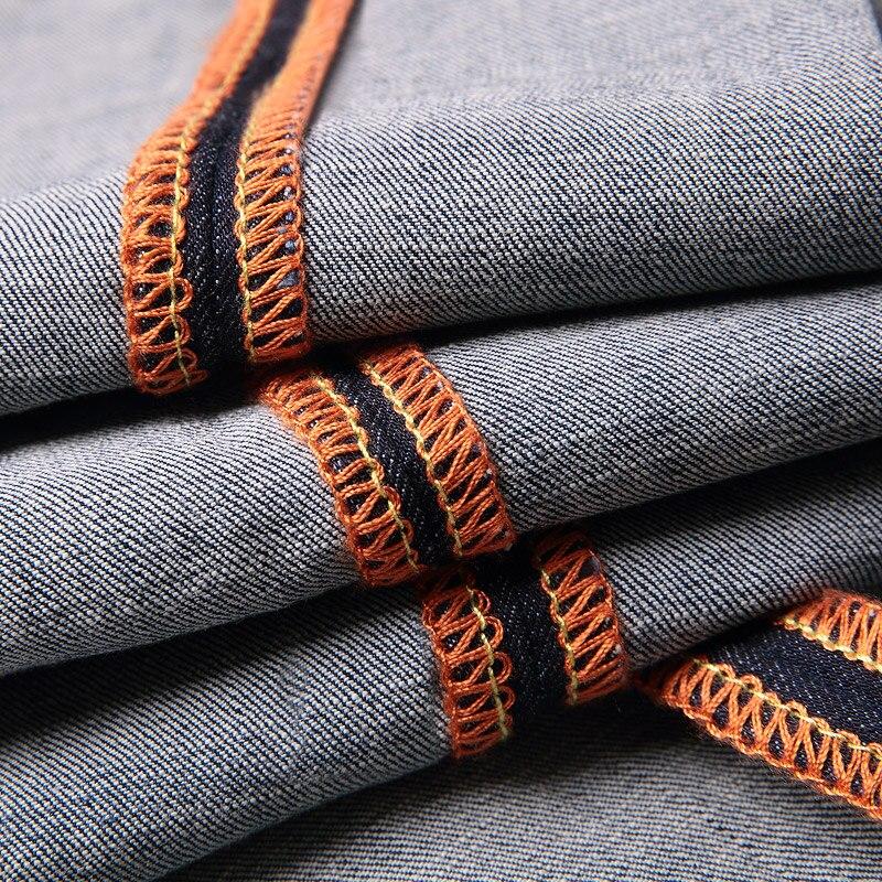 7b171fe11 Aliexpress.com: Comprar Jantour 2018 ropa de lujo azul skinny jeans hombres  Slim Casual Denim jean mans Pantalones hombre Trajes pantalon hombre robin  ...