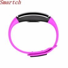 Smartch Водонепроницаемый спортивный браслет с измерения артериального давления Smart Pulsera Фитнес трекер Браслет Смарт часы
