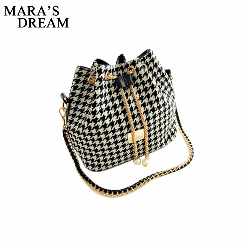 Mara's Dream 2017 Bucket Bag Bohemia Canvas Drawstring Shoulder Handbags Printed Women Messenger Bags Bolsa Feminina Bolsos women bohemia canvas drawstring bucket bag shoulder handbags messenger bags feminina bolsos