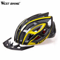 WEST BIKING Bicycle MTB Insect Net Bike Helmets Super Light Sport Bicycle Helmets Ciclismo Capacete Cycling Helmet For Men Women