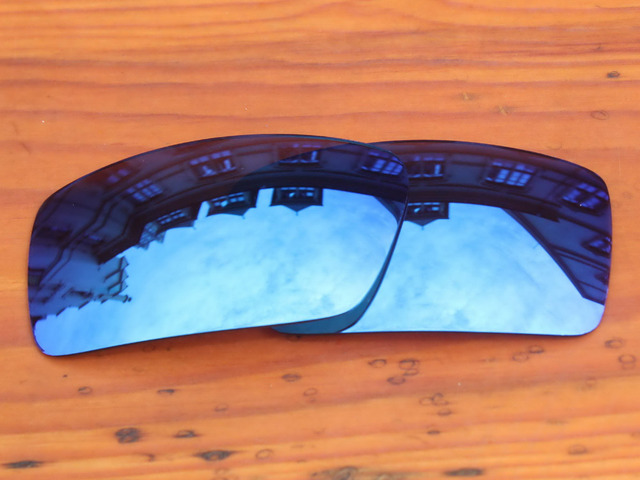 4f4e2b2a64 Polycarbonate-Ice Blue Mirror Replacement Lenses For Gascan Sunglasses  Frame 100% UVA   UVB