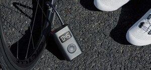Image 5 - (RU Ship)  Xiaomi Mijia Portable Smart Digital Tire Pressure Detection Electric Inflator Pump for Bike Motorcycle Car Football
