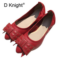 2019 Spring Summer Women Shoes Size 41 Women Flats With Genuine Leather Chaussures Femme Slip On Women Loafers Flat Shoes Woman