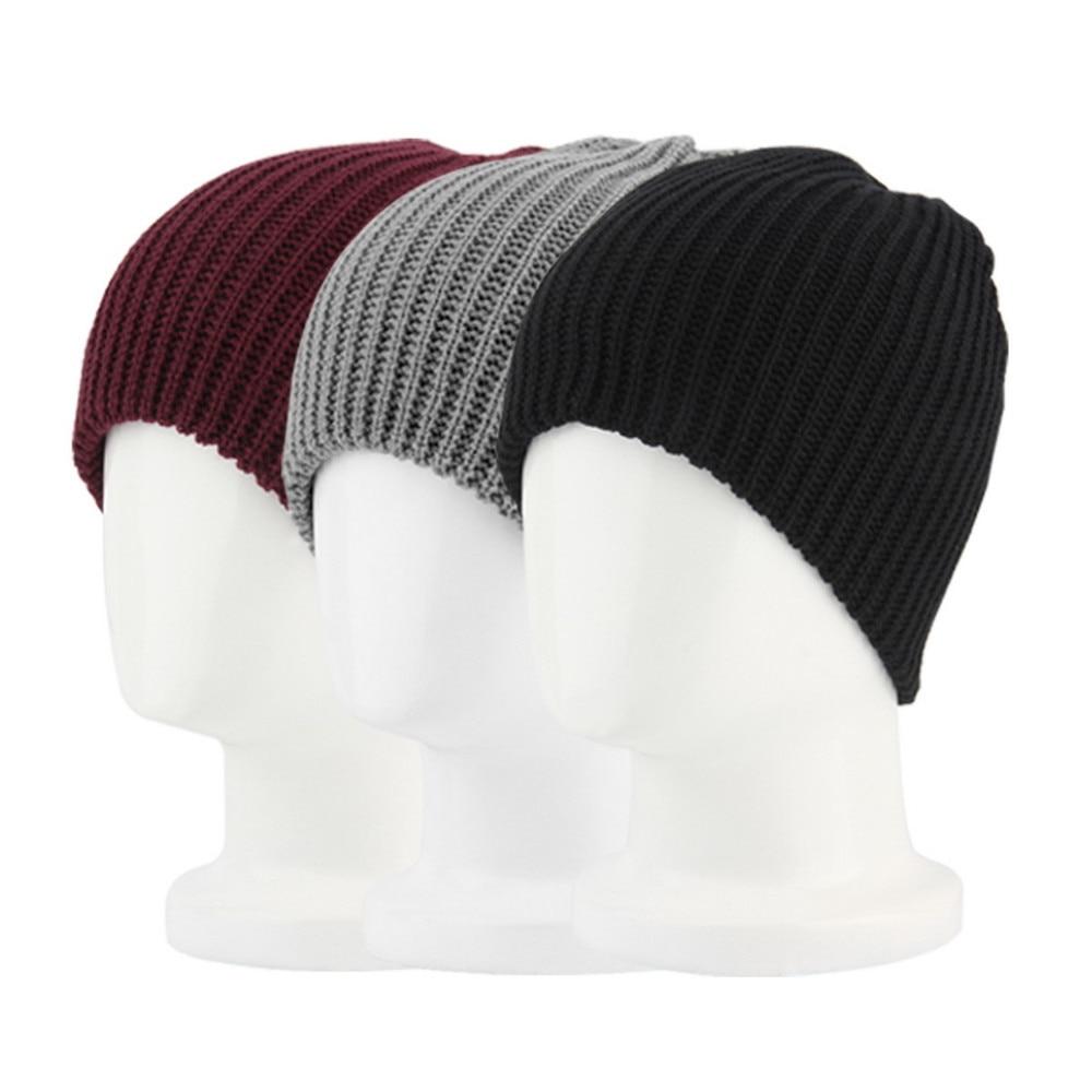 9cb44077c11b 2019 Casual Chic Men S Loose Beanie Hats Caps Winter Women Men S ...