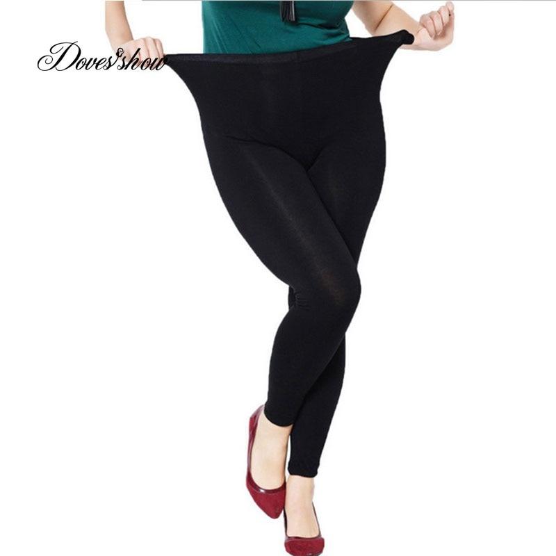Colorful Modal Big Leggings Women Summer Pants Plus Size Jeans Leggings Candy Color Leggings Big Women Pants Bodycon Pants XXXL