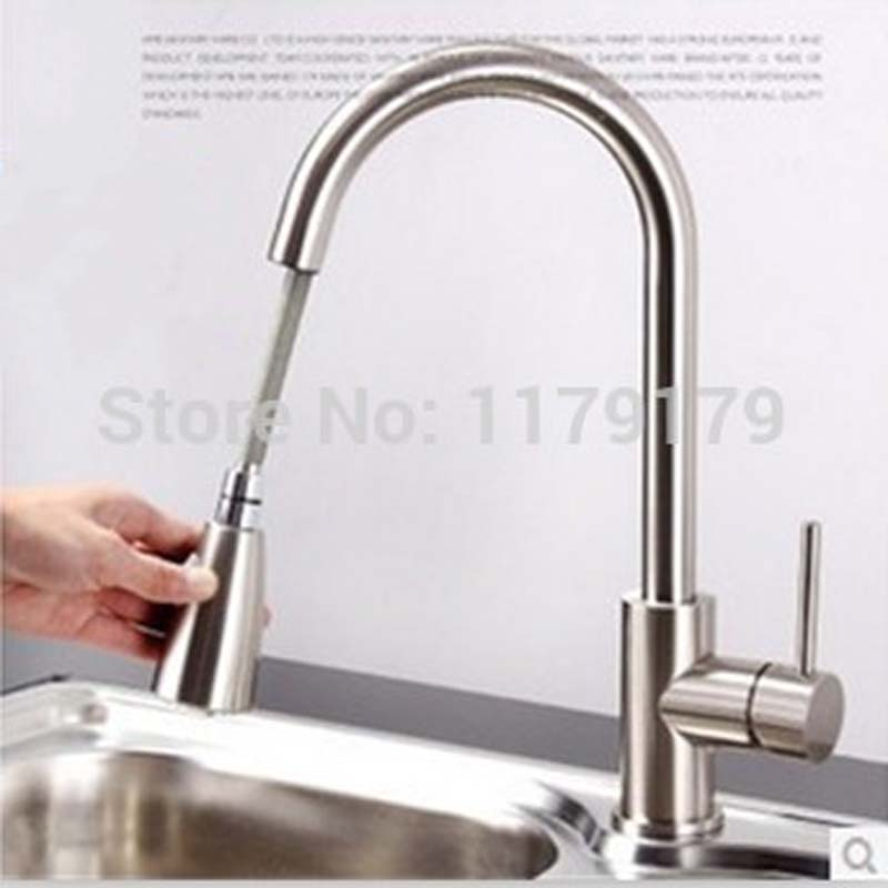 Put Out Mutifunctional Tap Faucet,brass Chrome Plated Faucet, Wash Basin  Hot U0026 Cool Faucet Kitchen Faucet HP4104