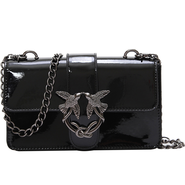 f4adc304f18e LXTAZG Fashion Famous Designer Brand Women leather Handbags Swallows  Shoulder Bag lady luxury Evening clutch bags Messenger Bags