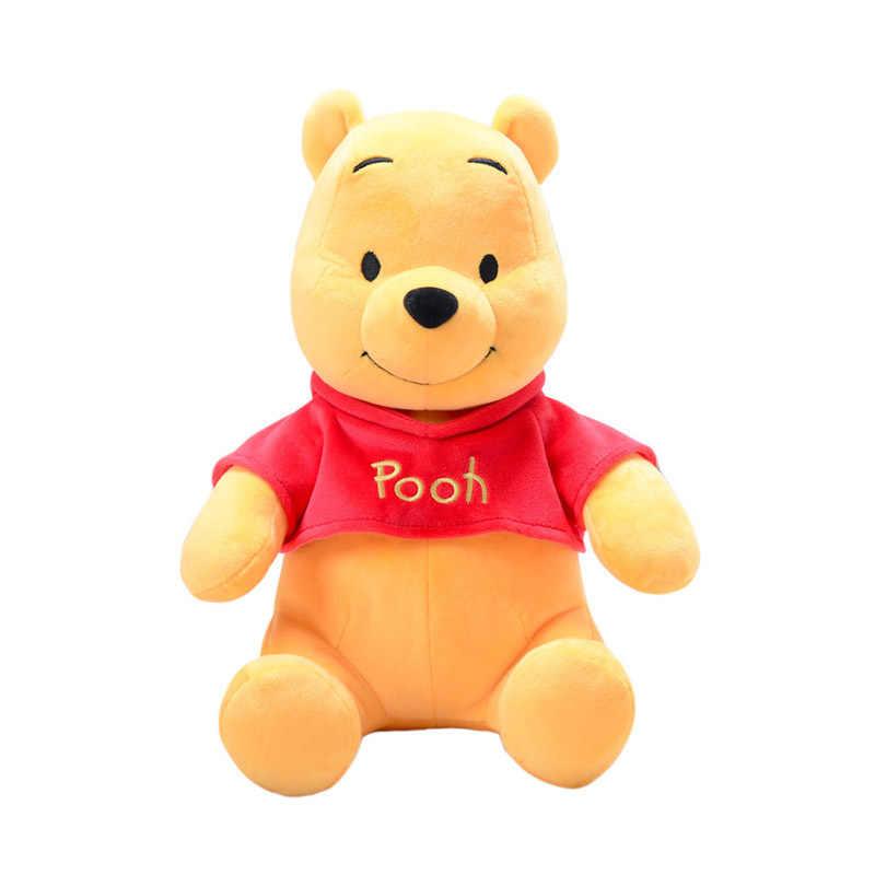 Winnie de Disney Pooh Original de peluche de juguete/30/40 cm suave lindo animal relleno peluche kawaii decoraciones de cumpleaños regalo de Navidad
