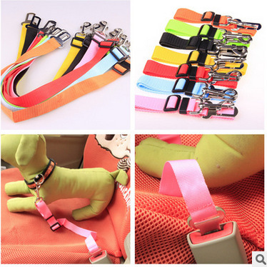 Pet car seat belt special 2.5CM quality material a large number of spot manufacturers direct sale
