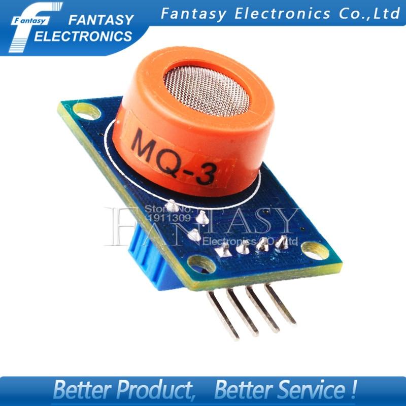 1pcs MQ3 Alcohol Ethanol Sensor Breath Gas Ethanol Detection MQ-3 for Arduino 51 new Free shipping