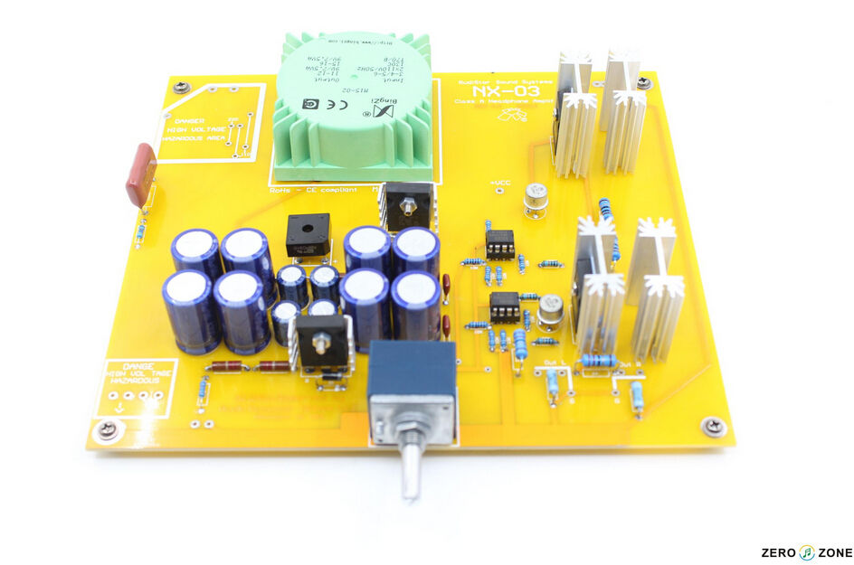 2015 NEW Assembled ZERO-ZONE NX-03 headphone amplifier Board Clone RudiStor L159-6