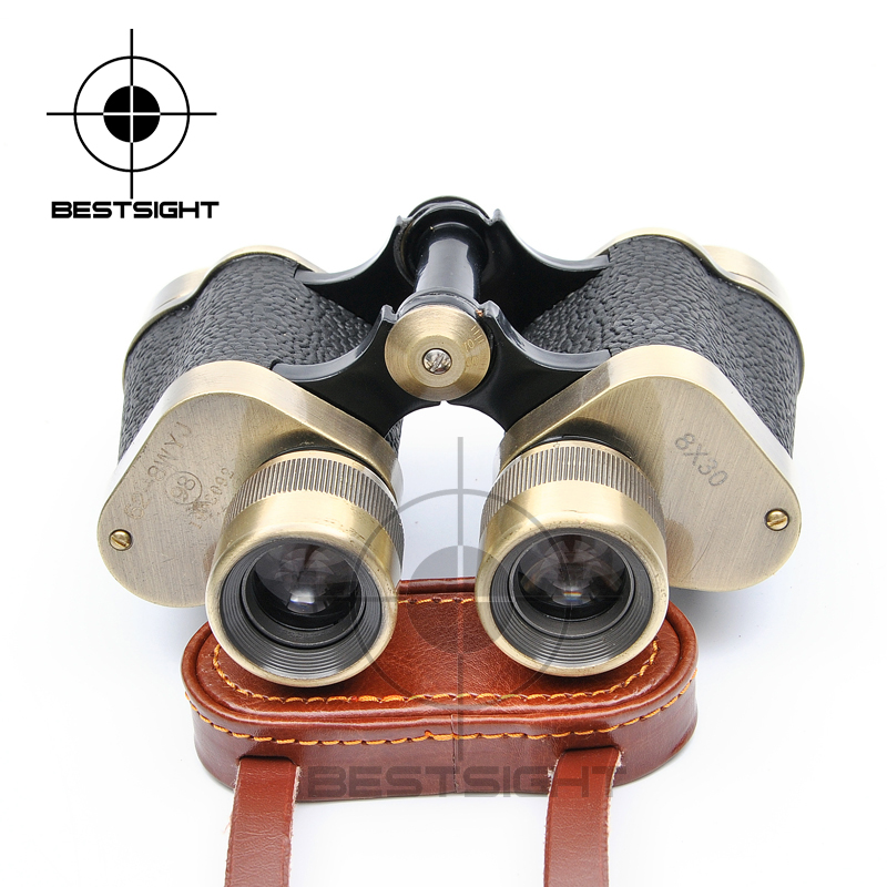 Type 62 8x30 Metal Binoculars HD High Magnification Light Night Vision Cowhide Telescope Trip To Mountains Observation Telescope 60mm 15x magnification hd telescope w glimmer night vision black