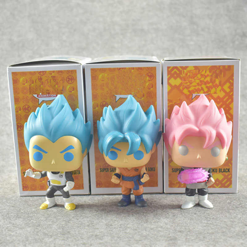 2019 Brinquedo Dragon Ball Son Goku Figura de Ação Anime Super Vegeta Boneca Modelo Coleção Pvc Brinquedos Para As Crianças Presentes de Natal