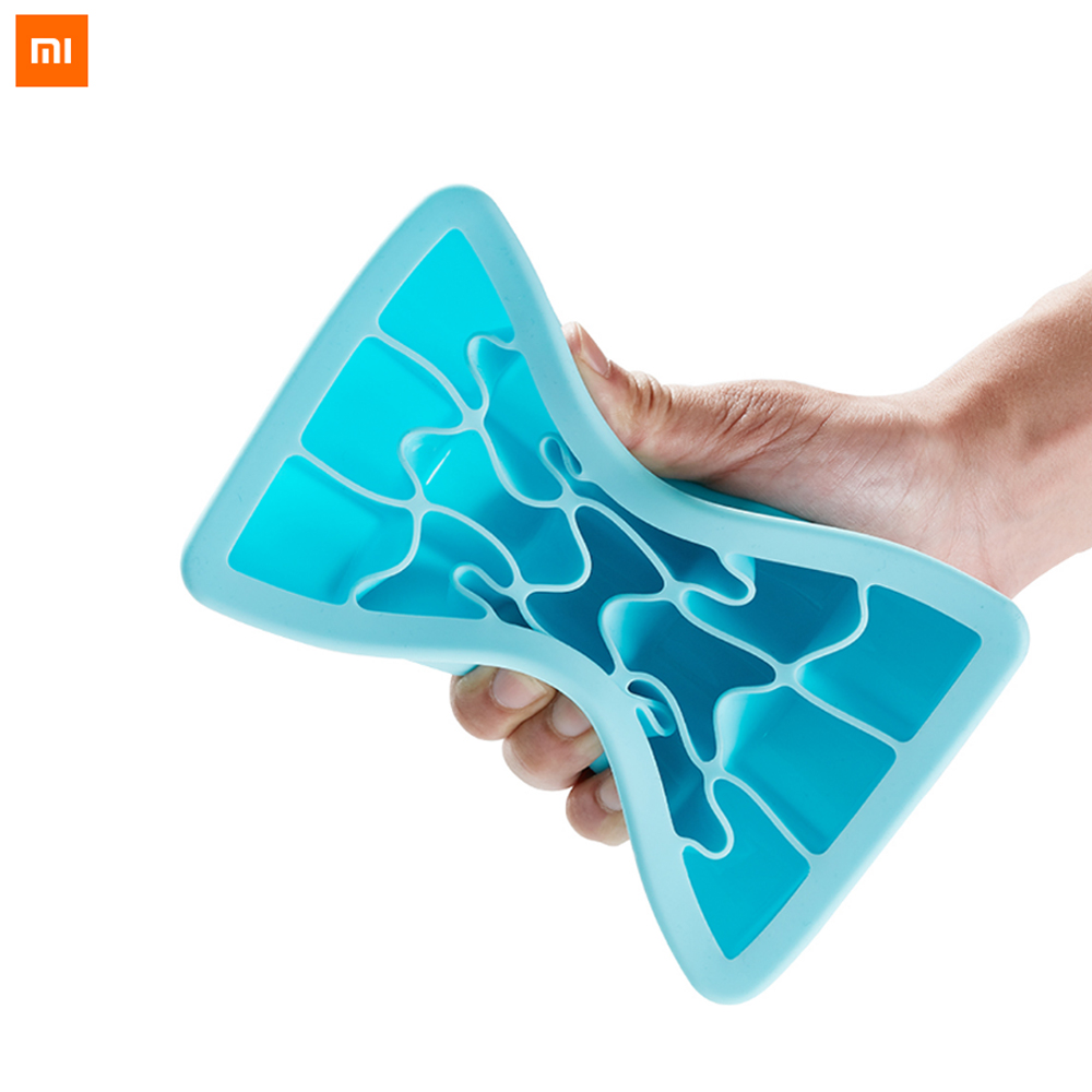 Xiaomi Mijia Kalar Ice Tray Food Grade Silicone Matrial Optional 9 Grids 15 Grids DIY Tool Mode For Ice Cream Smart Home silicone round diy ice mold with 6 grids