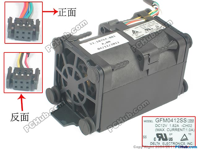 Delta GFM0412SS CH02 DC 12V 1.82A 62x62x40mm Server Square fan delta 12038 12v cooling fan afb1212ehe afb1212he afb1212hhe afb1212le afb1212she afb1212vhe afb1212me