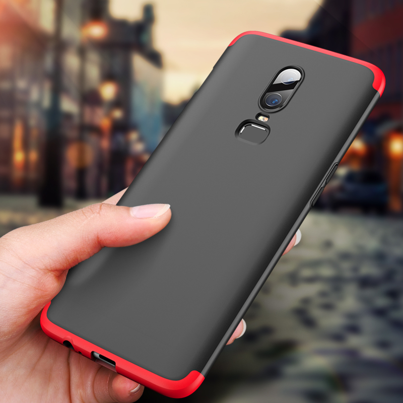 best sneakers 57dee 1d89f US $3.64 27% OFF|GKK Case for Oneplus 5T 5 6 6t Case Shockproof 360  Protection 3 in 1 Matte Cover for Oneplus 6t Phone Accessories Fundas  Coque-in ...