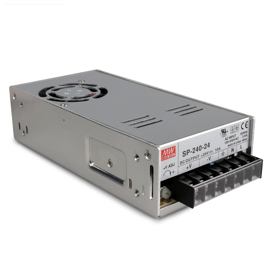 Original MEAN WELL 240W Single Output Switching Power Supply With PFC Function SP-240 [cb]mean well original sp 240 15 3pcs 15v 16a meanwell sp 240 15v 240w single output with pfc function power supply