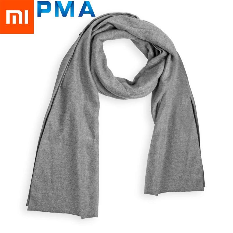 Xiaomi PMA Graphene Heating Scarf 3 Gear Adjustable Bamboo Fiber Fabric Water Washable USB Interface Soft